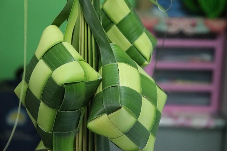Ba'do Katupat dari Sulawesi